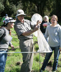 Gavilan Community College Students Surveying for Insects
